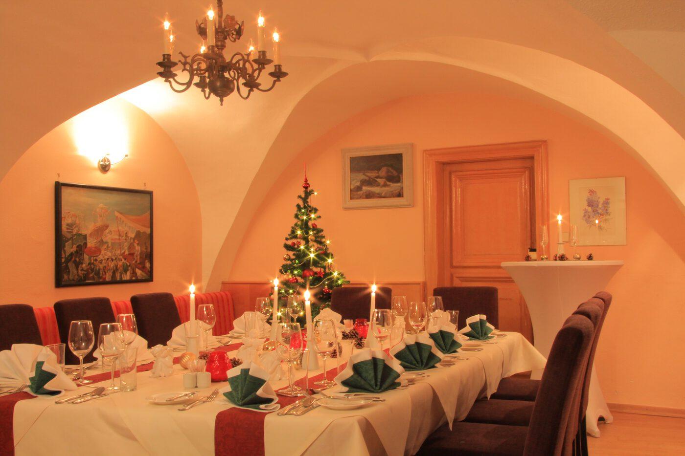 weihnachtsfeier im restaurant hoeldrichsmuehle